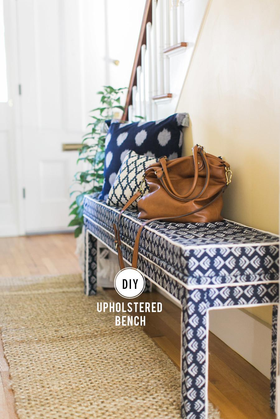 Ikea Hack Diy Upholstered Bench