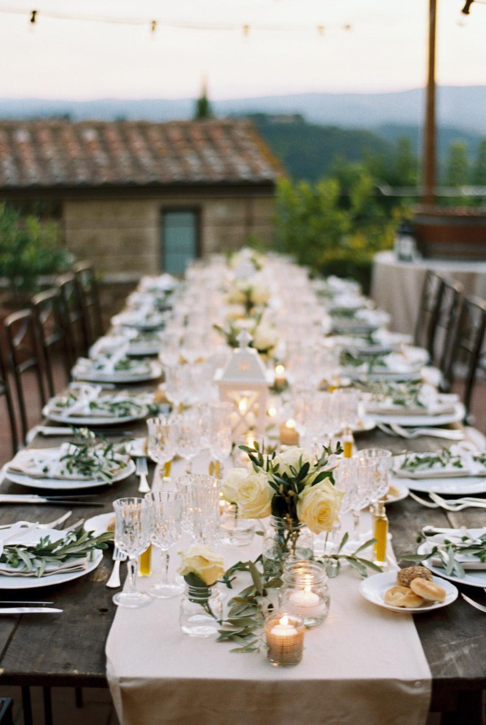 Classic Tuscan Villa Wedding