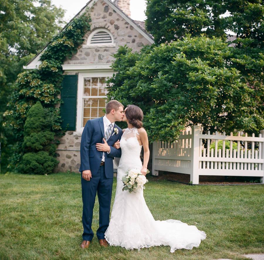 Outdoor Wedding Wisconsin: Elegant + Intimate Outdoor Backyard Wedding In Wisconsin
