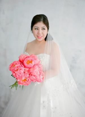 Coral Charm Peony Wedding Inspiration Style Me Pretty