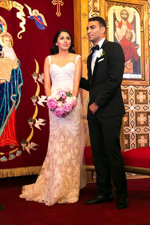 St  Mary Coptic Orthodox Church Wedding Inspiration - Style