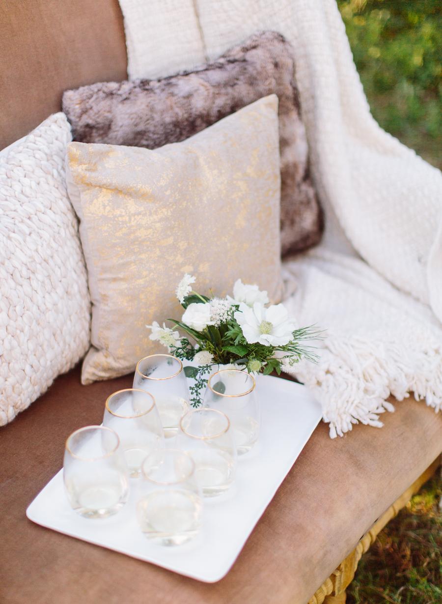 Cozy Outdoor Wedding Inspiration