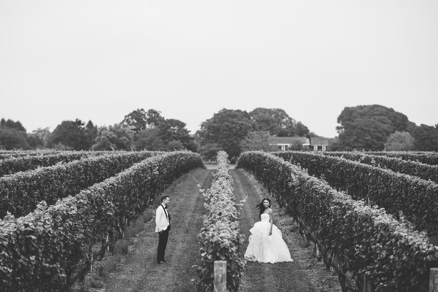 A Vineyard Wedding In The Hamptons