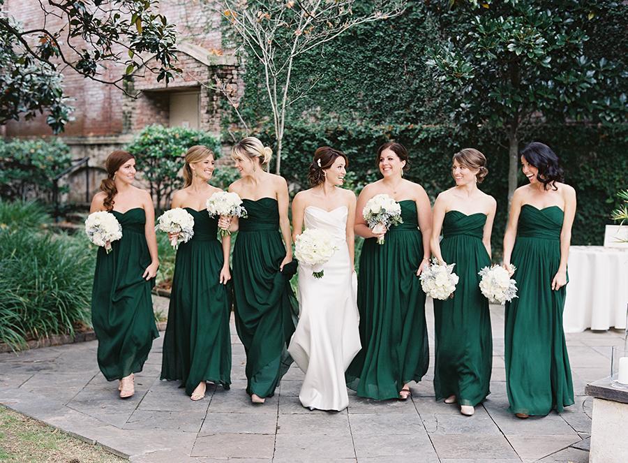 Jewel Tones Bridesmaids