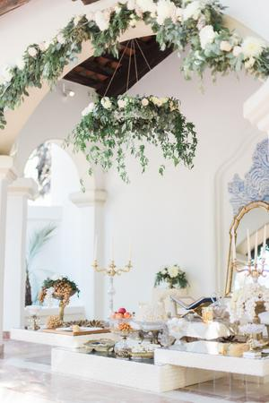 Chandelier events wedding inspiration style me pretty tagsfloral chandelier aloadofball Choice Image