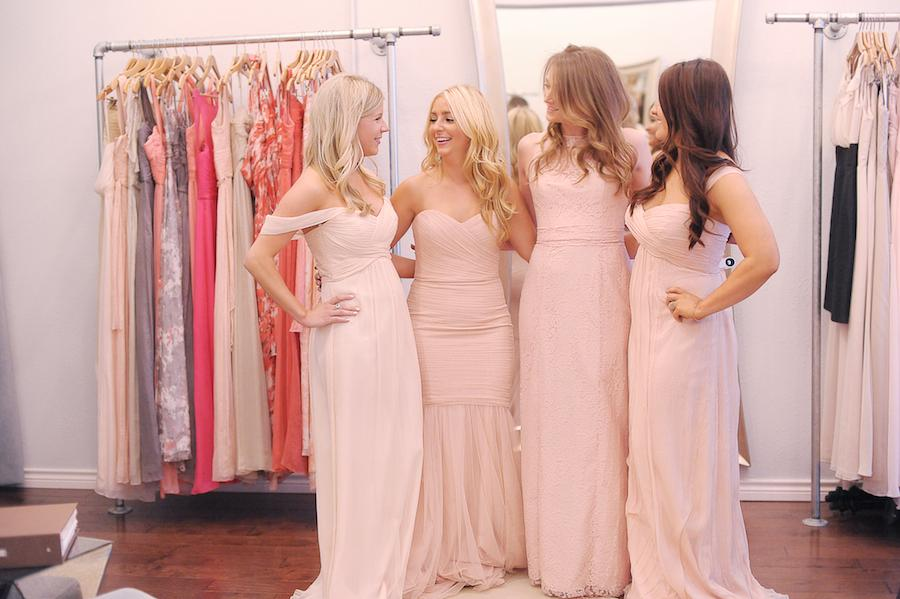 how to take out a bridesmaid dress