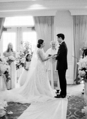 Black By Vera Wang Wedding Inspiration Style Me Pretty