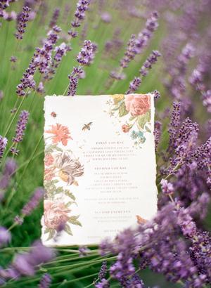 Woodinville Lavender Farm Wedding Inspiration - Style Me Pretty