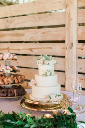 Cakes Wedding Inspiration Style Me Pretty
