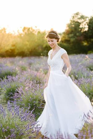 c0b0faf9593 wedding-dresses Wedding Inspiration - Style Me Pretty