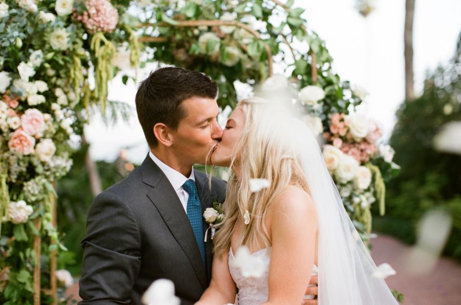 Romantic Wedding at The Biltmore Santa Barbara