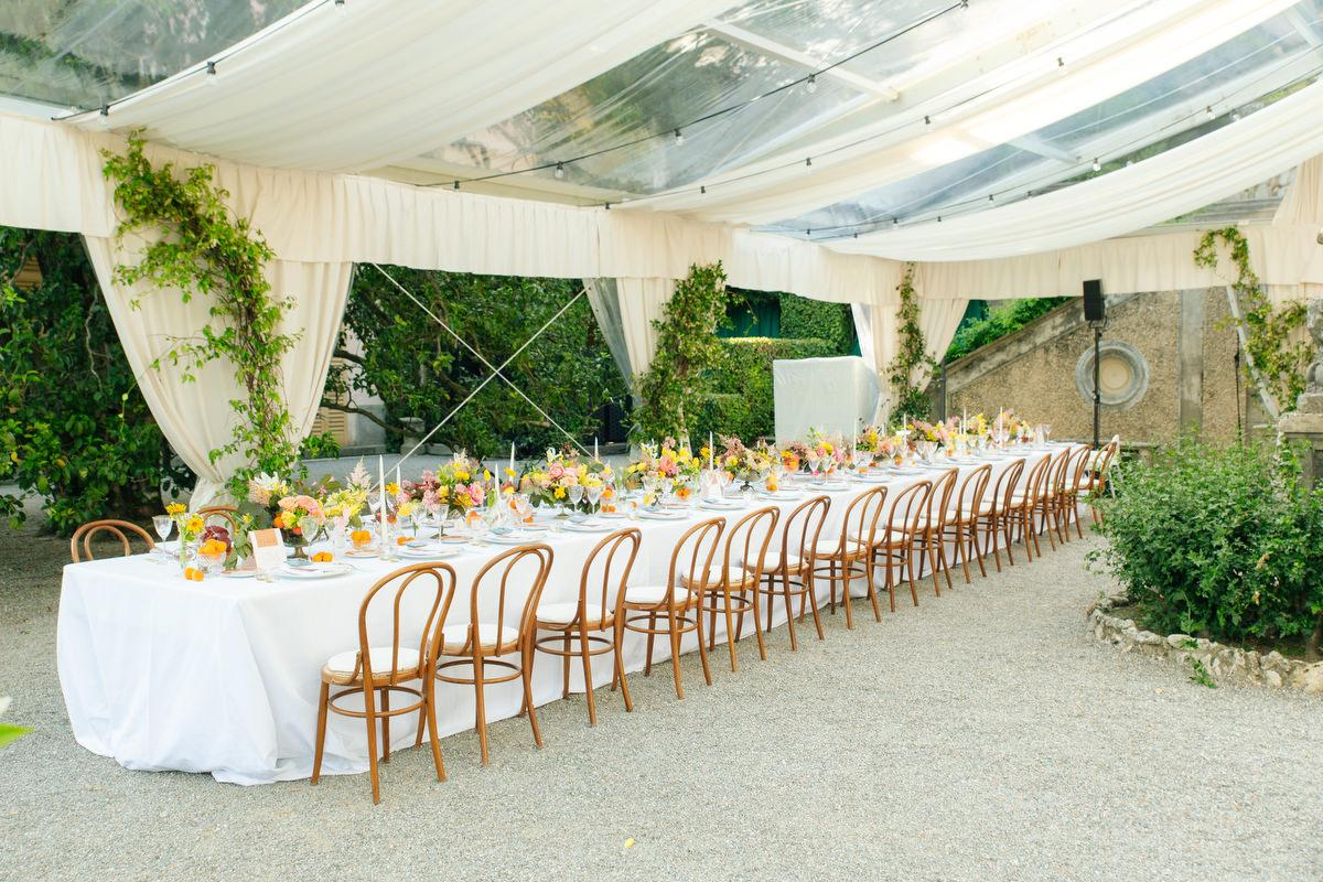 A Lavish Lake Como Wedding That Embraces Color!