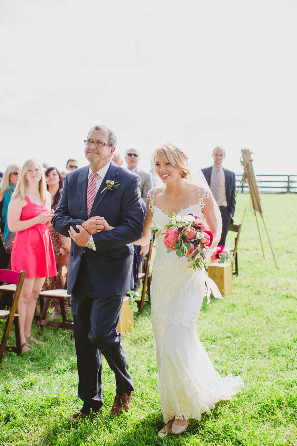 Kentucky Barn Wedding Filled With Peonies