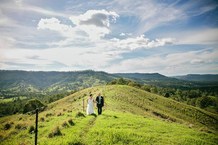 Designer Wedding Dress Gold Coast: Elegant Queensland Vineyard Wedding