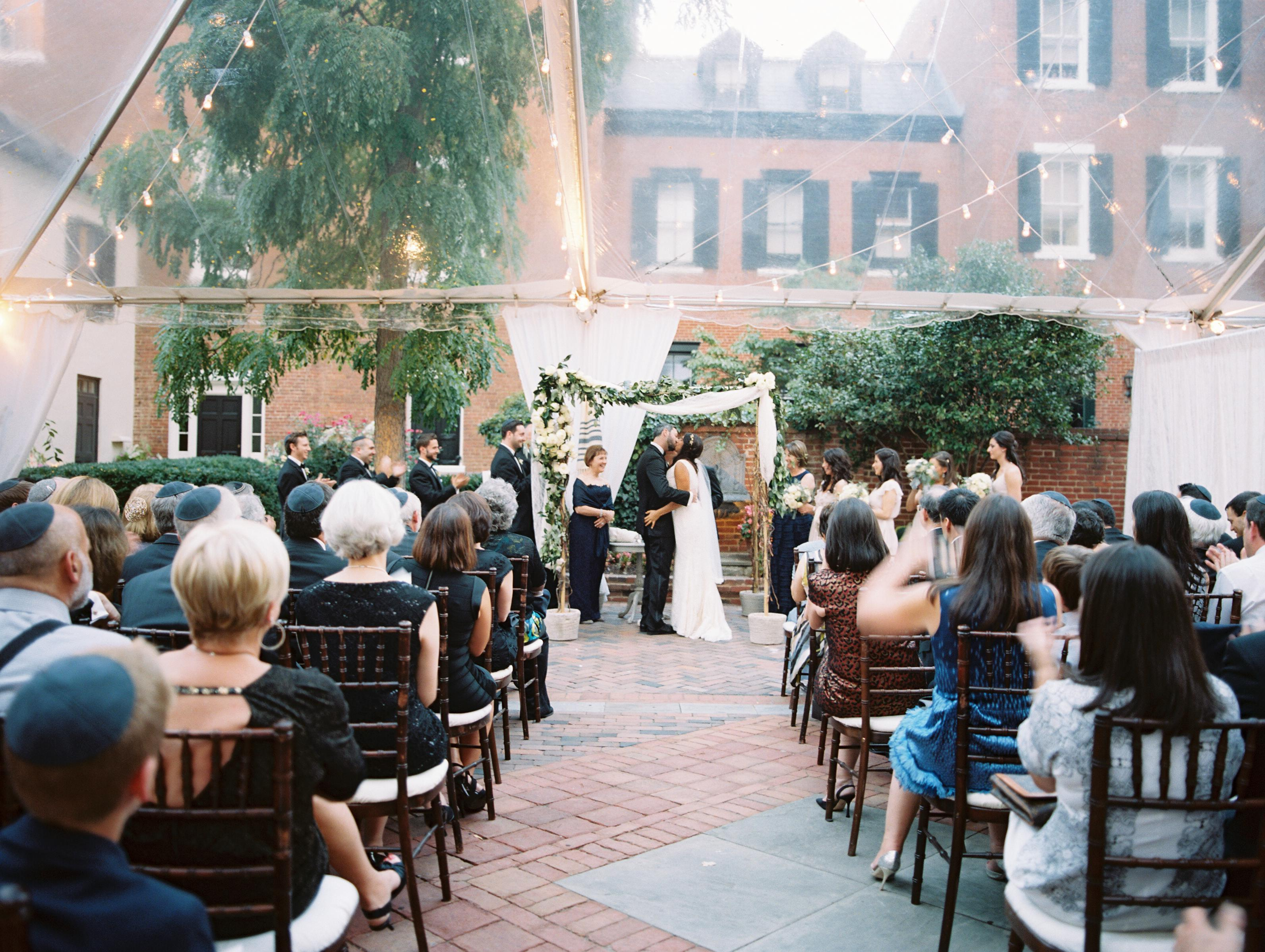Elegant Garden Party Wedding In Washington DC